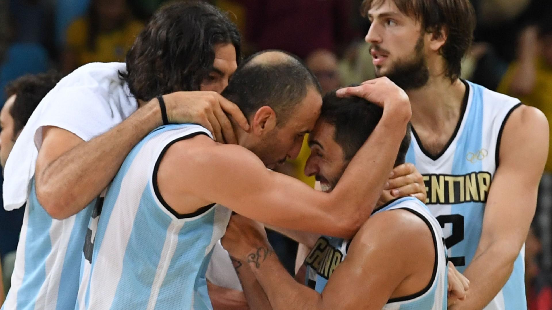 Olympic Basketball: Argentina wins double-OT thriller vs. Brazil