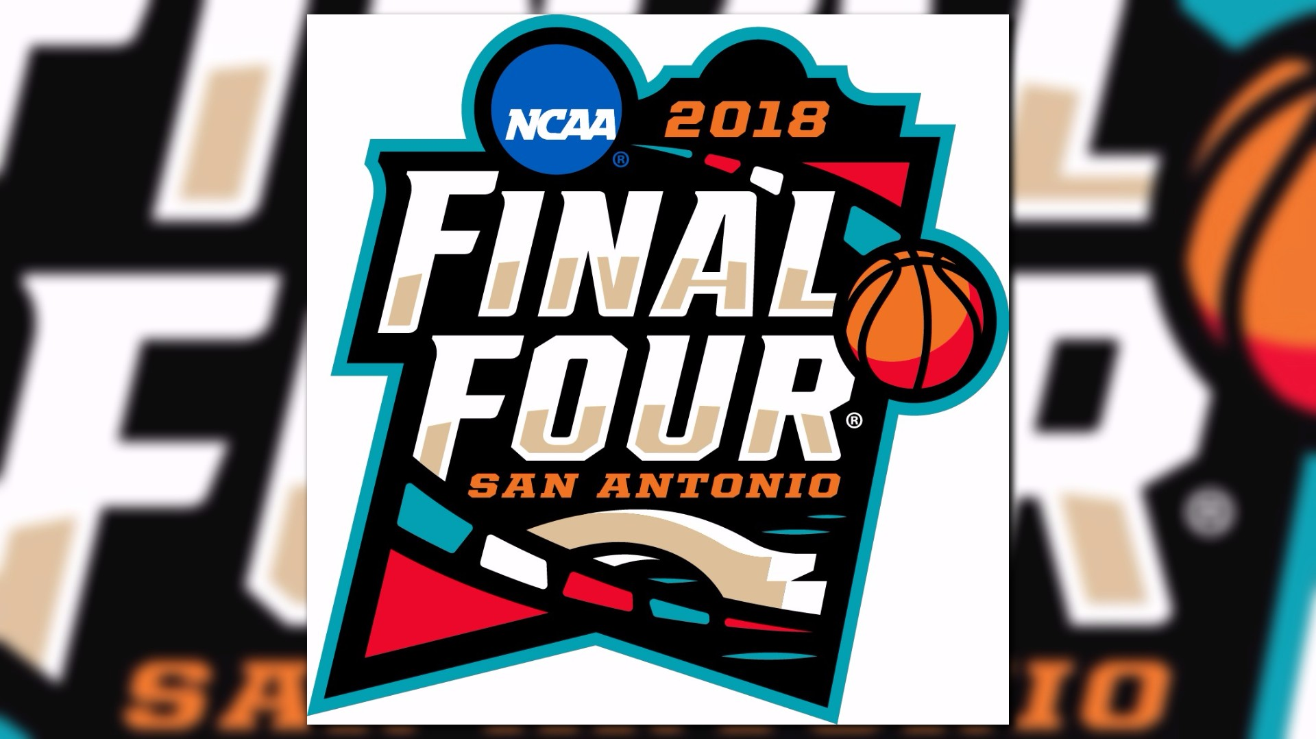logo unveiled for 2018 ncaa men 39 s final four. Black Bedroom Furniture Sets. Home Design Ideas