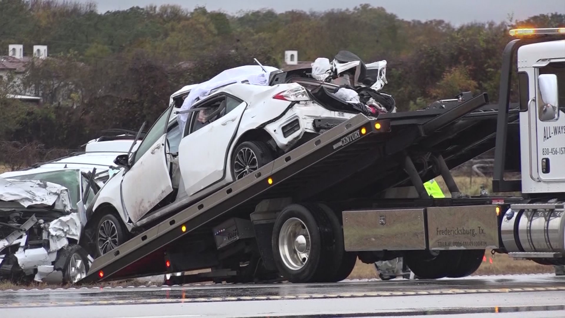 Four Dead Five Injured After Major Accident Near