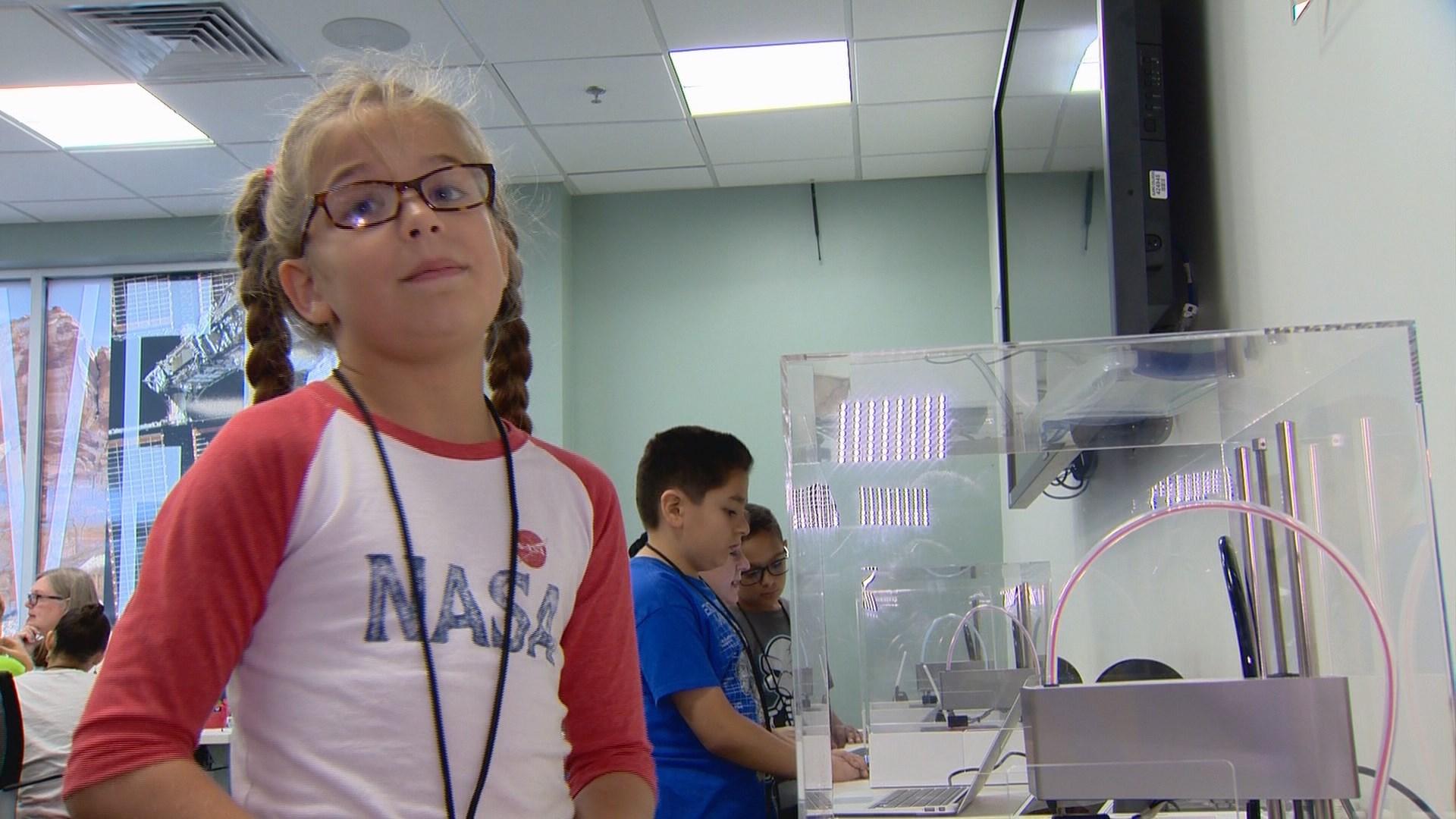 3d Printers Inspiring San Antonio Children To Work At Nasa