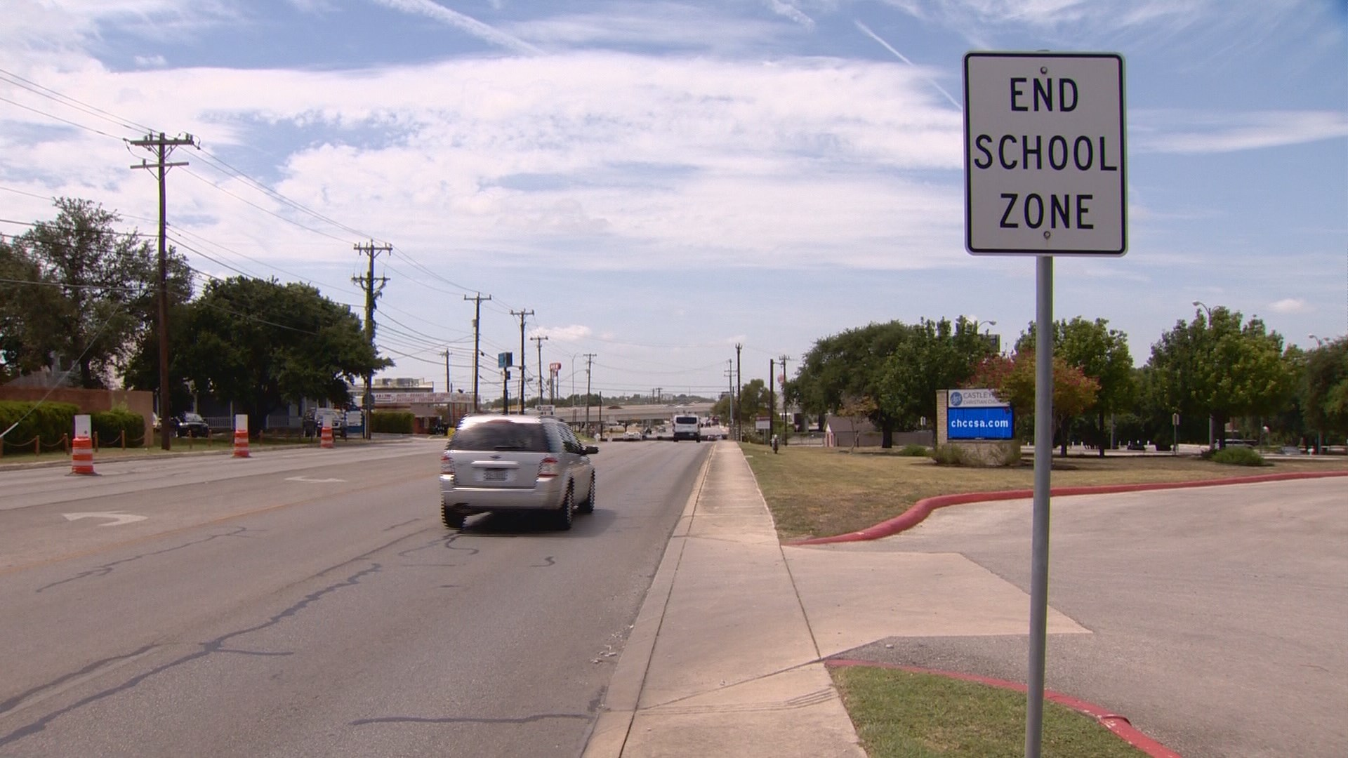 Kens5 Com Police Ticketing Drivers In School Zone