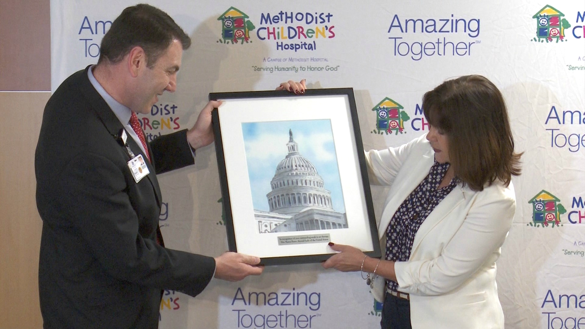 Kens5 Com Second Lady Karen Pence Promotes Art Therapy
